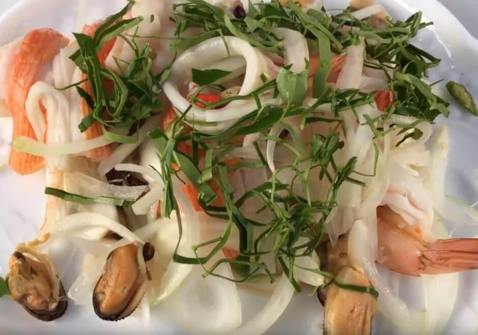 Seafood ပင္လယ္စာအသုပ္